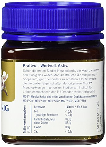 Manuka Health Aktiver - Honig MGO 250 plus - Original, 1er Pack (1 x 250 g) - 3