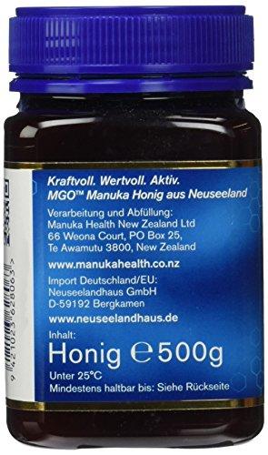 Manuka Health aktiver Manuka-Honig MGO 400+, 1er Pack (1 x 500 g) - 3