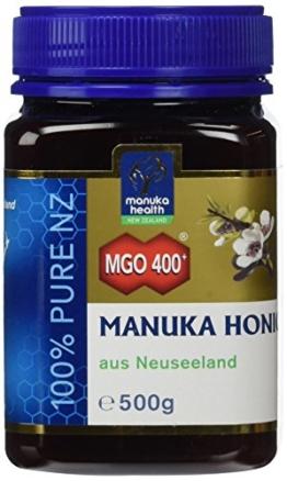 Manuka Health aktiver Manuka-Honig MGO 400+, 1er Pack (1 x 500 g) - 1