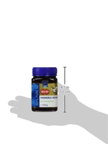 Manuka Health aktiver Manuka-Honig MGO 400+, 1er Pack (1 x 500 g) - 5