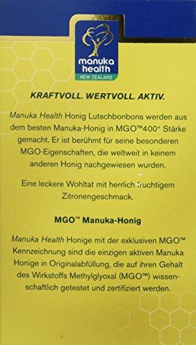 Manuka Health MGO 400 plus Zitronen Lutschbonbons, 1er Pack (1 x 120 g) - 4