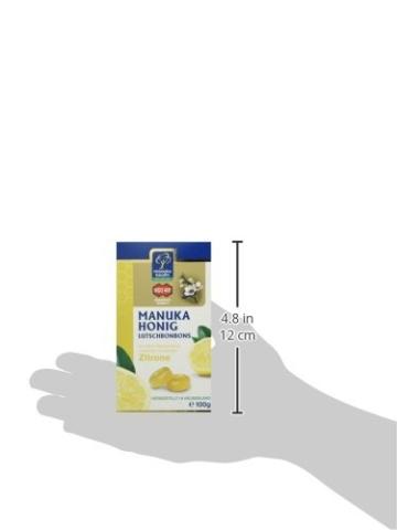 Manuka Health MGO 400 plus Zitronen Lutschbonbons, 1er Pack (1 x 120 g) - 6