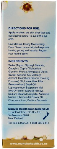 Manuka Health MGR 250+ Manuka Honey Moisturizing Face Cream 50 ml - 4