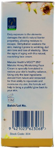 Manuka Health MGR 250+ Manuka Honey Moisturizing Face Cream 50 ml - 5