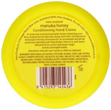 Wild Fern Manuka Honey Hand Cream 85ml - 3